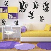 Wandtattoo Schmetterling Set
