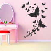 Wandtattoo Schmetterlinge