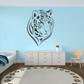 Wandtattoo Tiger