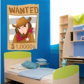 Wanted Wall Stickers