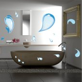 Water Drops Wall Stickers