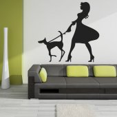 Woman Wall Stickers
