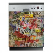 Words - Dishwasher Cover Panels