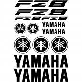Yamaha FZ8 Aufkleber-Set