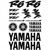 Yamaha R6 Decal Stickers kit