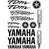 Yamaha TDM Twin 850 Aufkleber-Set