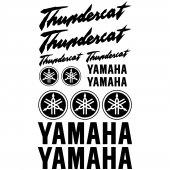 Yamaha Thundercat Aufkleber-Set