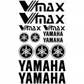 Yamaha VMAX Aufkleber-Set