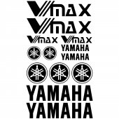 Yamaha VMAX Decal Stickers kit