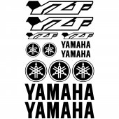 Yamaha YZF Decal Stickers kit