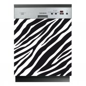 Zebra - Dishwasher Cover Panels