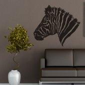 Zebra head Wall Stickers