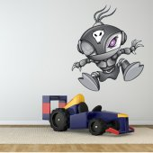 Sticker Pentru Copii Robot Extraterestru