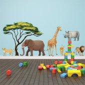 Stickere copii kit 6 Animale