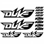 Autocollant - Stickers Ktm 125 duke