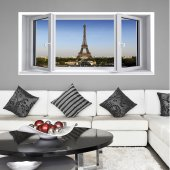 Window illusion Wall Stickers