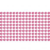 160 Stasuri Autocolante Fuchsia