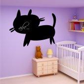 Adesivo Lavagna gatto