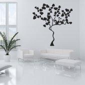 Adesivo Murale albero scoiattoli