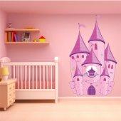 Adesivo Murale bambino castello