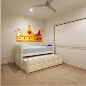 Adesivo Murale bambino corona