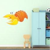 Adesivo Murale bambino granchio