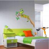 Adesivo Murale bambino ramo serpente