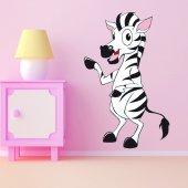 Adesivo Murale bambino zebra