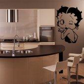 Adesivo Murale Betty Boop