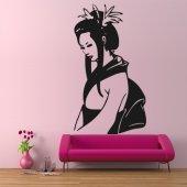 Adesivo Murale Geisha