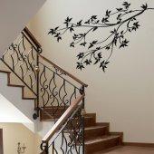 Adesivo Murale ramo