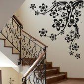 Adesivo Murale ramo di ciliegio