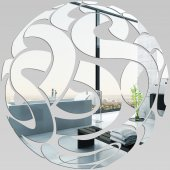 Akrylowe Lustro Plexiglas - Koło abstrakcja