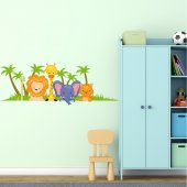 Animals of the Jungle Wall Stickers