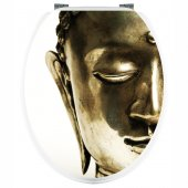 Aufkleber für Toilettendeckel Buddha