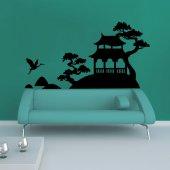 Autocolante decorativo Ásia