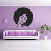 Autocolante decorativo Africano