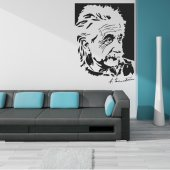 Autocolante decorativo Albert Einstein