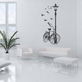 Autocolante decorativo bicicleta