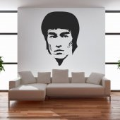 Autocolante decorativo Bruce Lee