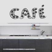 Autocolante decorativo cafe