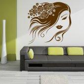 Autocolante decorativo face