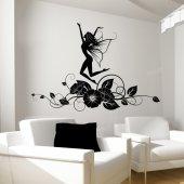 Autocolante decorativo fada