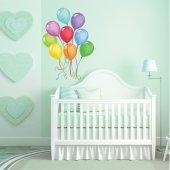 Autocolante decorativo infantil balão