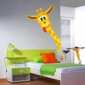 Autocolante decorativo infantil jirafa