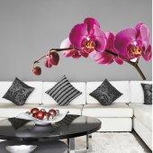 Autocolante decorativo infantil orquídea