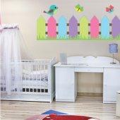 Autocolante decorativo infantil Pajeros de barreira