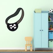 Autocolante decorativo infantil Tapa-olho de pirata