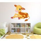 Autocolante decorativo infantil vitela