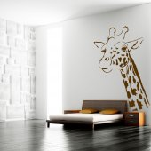 Autocolante decorativo jirafa